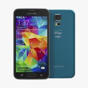 Samsung Galaxy S5 Blue 3D Model 3d model