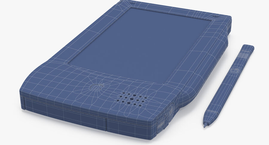 苹果牛顿留言板(OMP) royalty-free 3d model - Preview no. 14