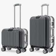 여행 가방 여행 Kingtrip 보통과 작은 검정 3d model