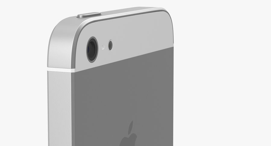iphone 5 royalty-free 3d model - Preview no. 11