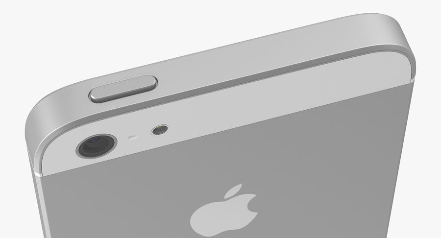 iphone 5 royalty-free 3d model - Preview no. 12