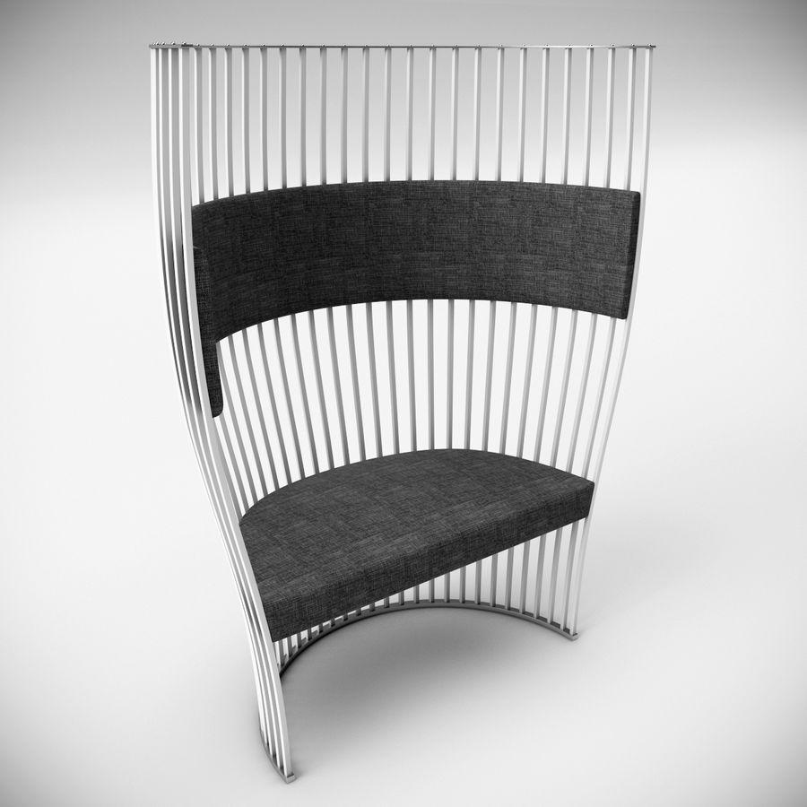 南海滩椅 royalty-free 3d model - Preview no. 1