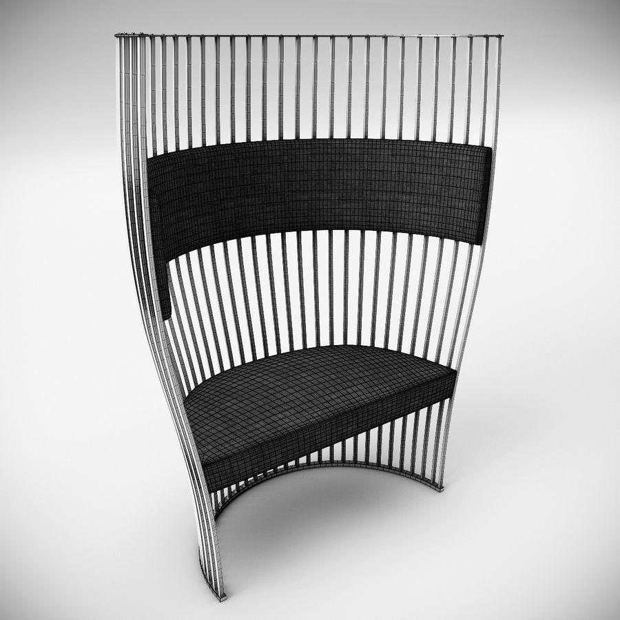 南海滩椅 royalty-free 3d model - Preview no. 6