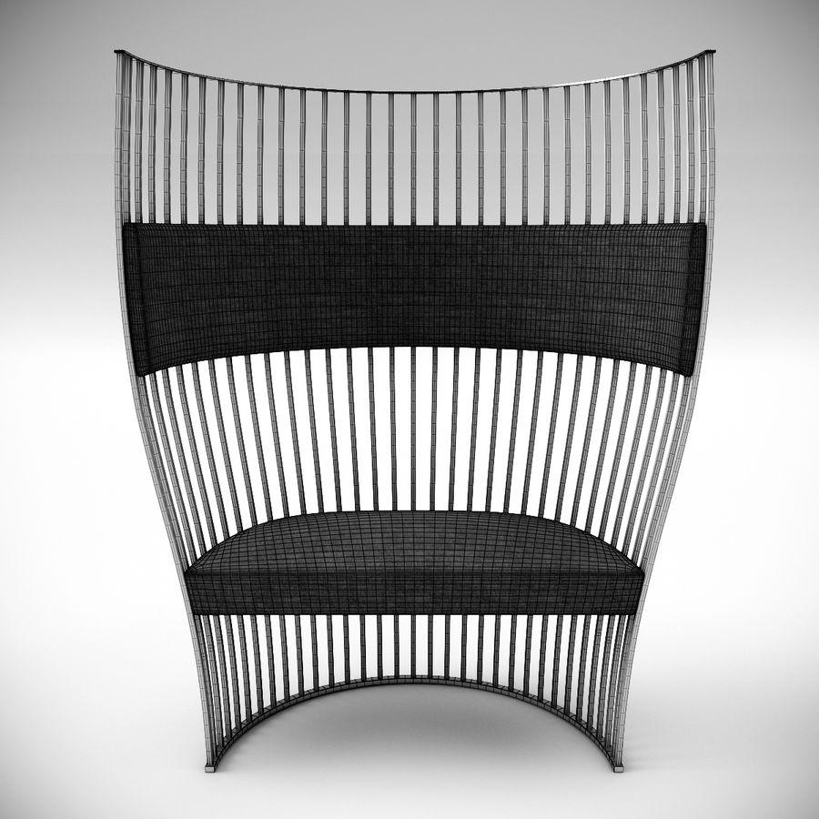 南海滩椅 royalty-free 3d model - Preview no. 7