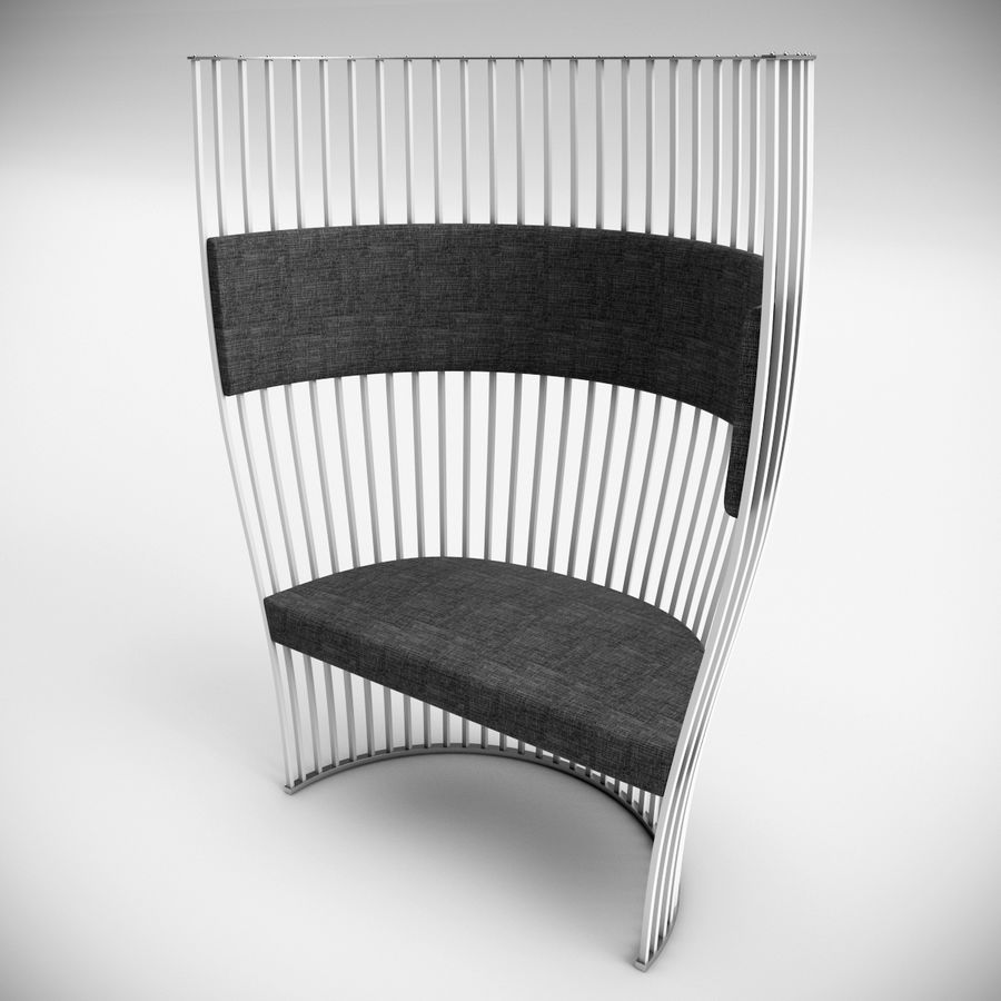 南海滩椅 royalty-free 3d model - Preview no. 5