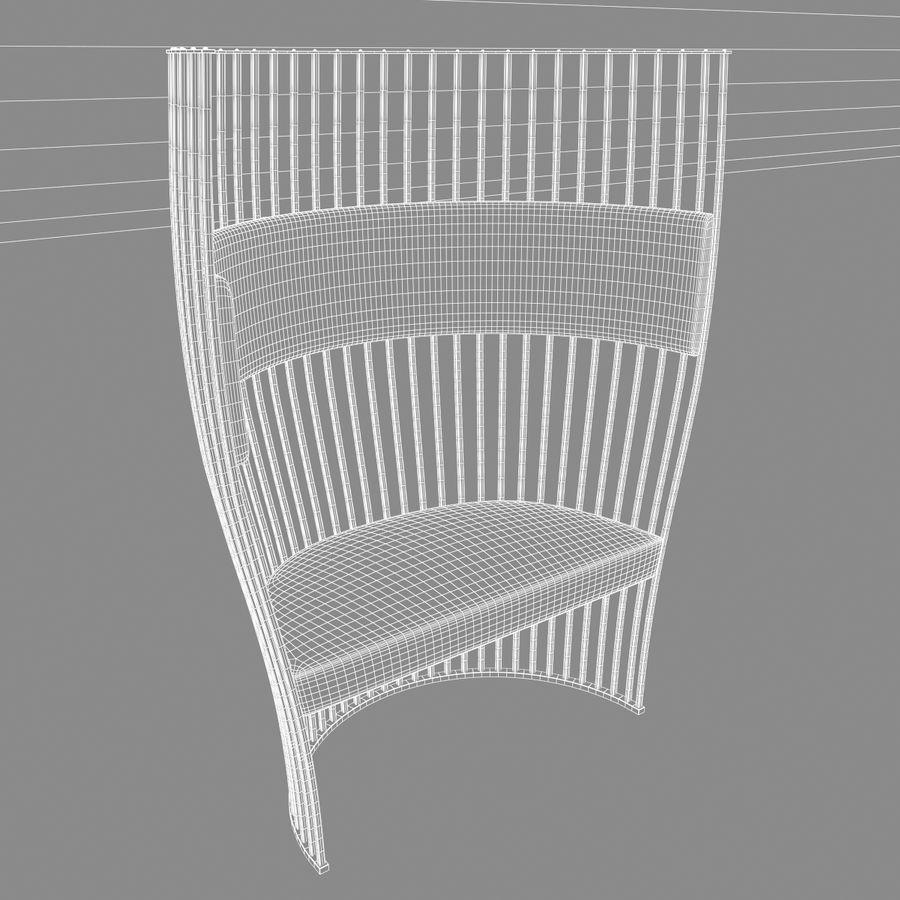 南海滩椅 royalty-free 3d model - Preview no. 11