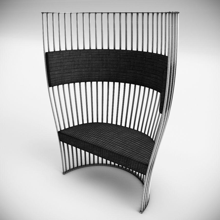 南海滩椅 royalty-free 3d model - Preview no. 10