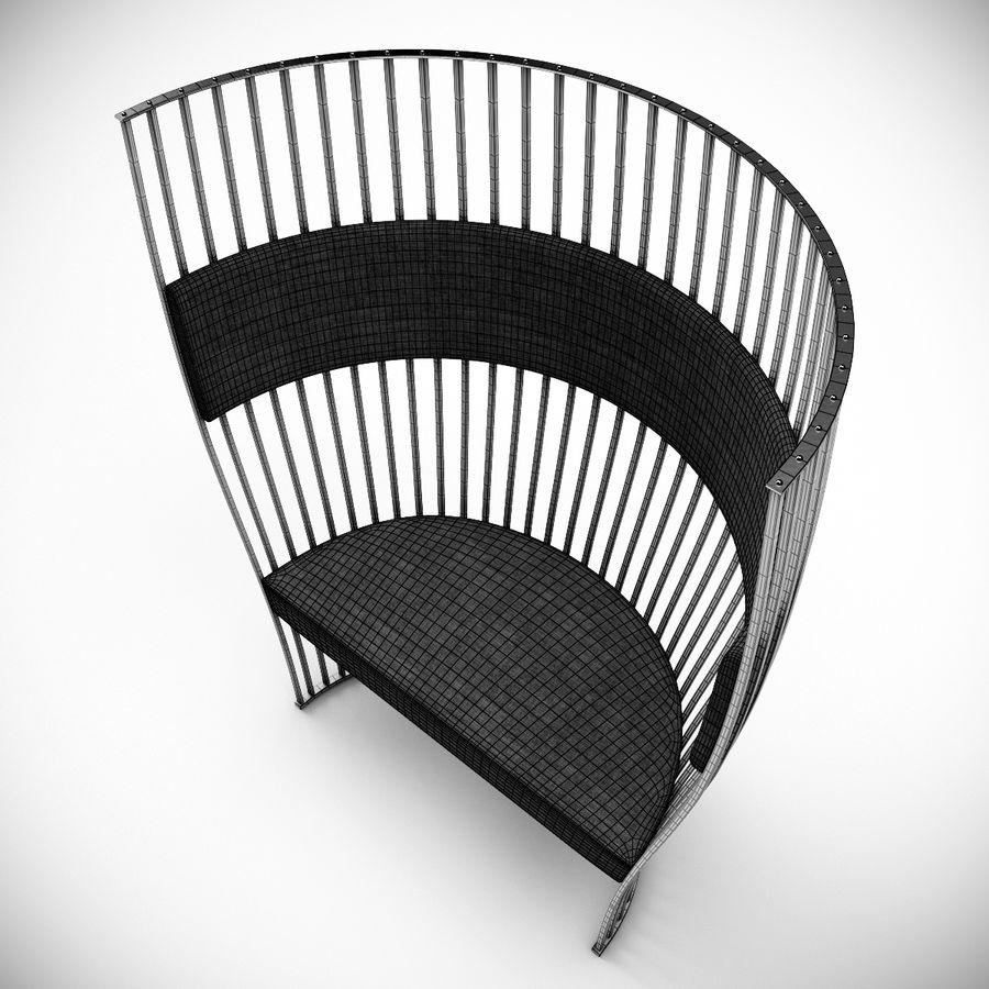 南海滩椅 royalty-free 3d model - Preview no. 9