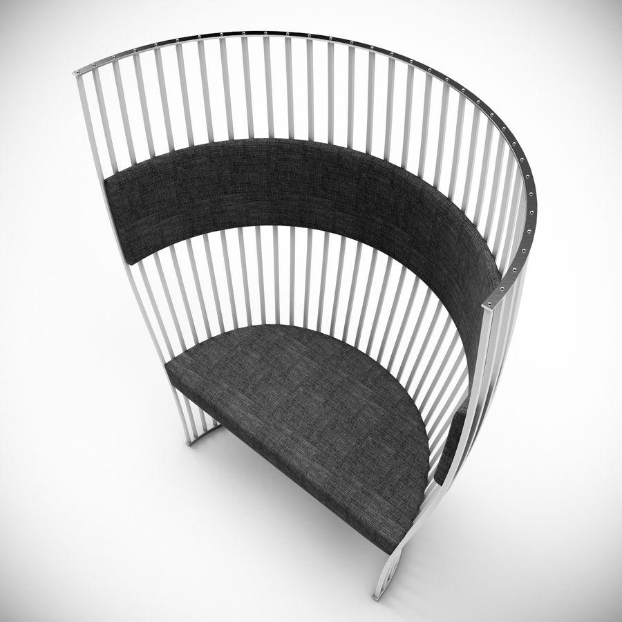 南海滩椅 royalty-free 3d model - Preview no. 4