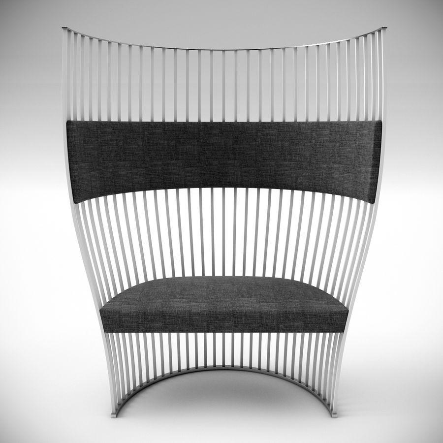 南海滩椅 royalty-free 3d model - Preview no. 2