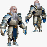 Dwarf Knight D1K3 3d model