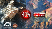 Snowy rocky mountains with 10 percent Discount 3d model