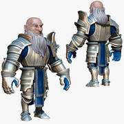 Dwarf Knight D1K2 3d model