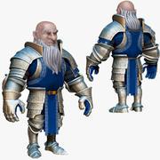 Dwarf Knight D1K1 3d model