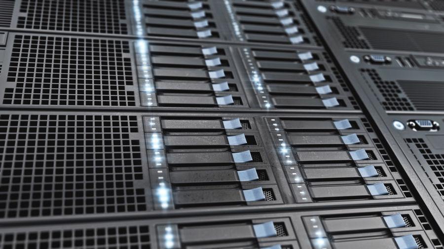 Server Rack royalty-free 3d model - Preview no. 1