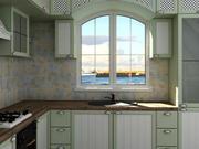 厨房普罗旺斯风格 3d model