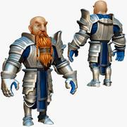 Dwarf Knight D2K2 3d model