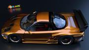 혼다 NSX (JGTC 모델) 3d model