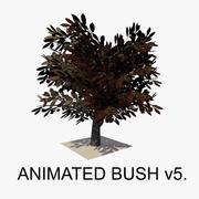 Animated Bush v5 3d model