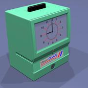 Punch Clock 3d model