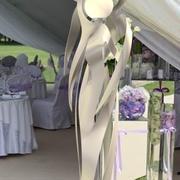 """escultura de luz """"amor"""" modelo 3d"""