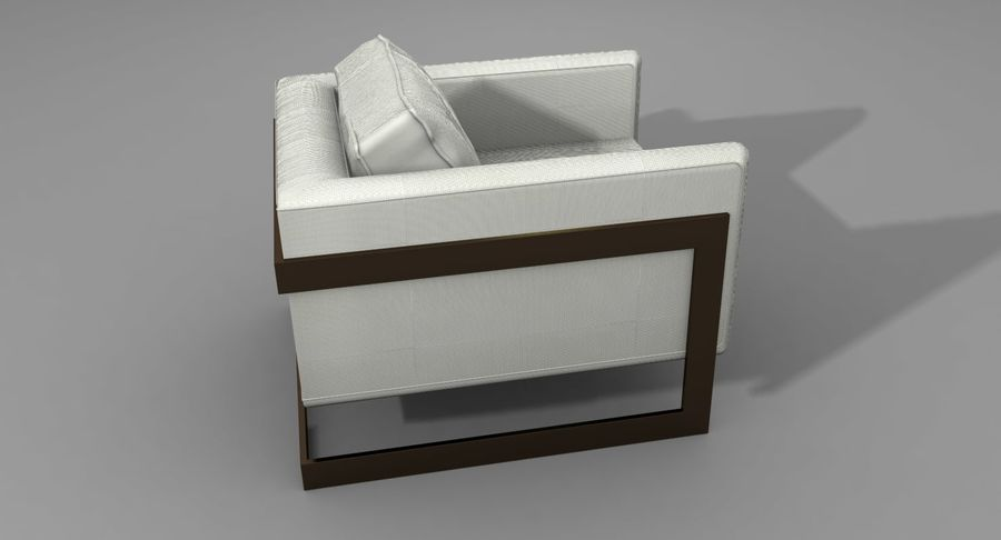 Arm Chair royalty-free 3d model - Preview no. 8