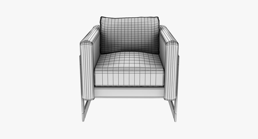 Arm Chair royalty-free 3d model - Preview no. 16