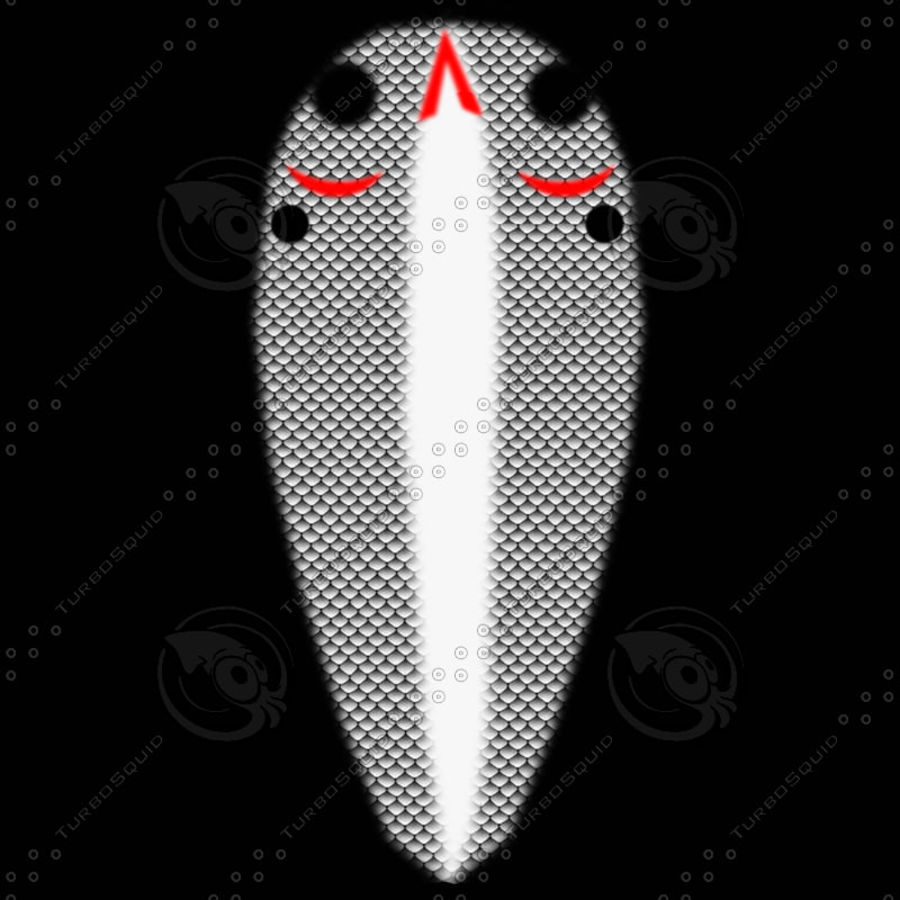 Rebel Fishing Lure royalty-free 3d model - Preview no. 8