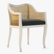 Krzesło boczne trzciny Tayabas 3d model