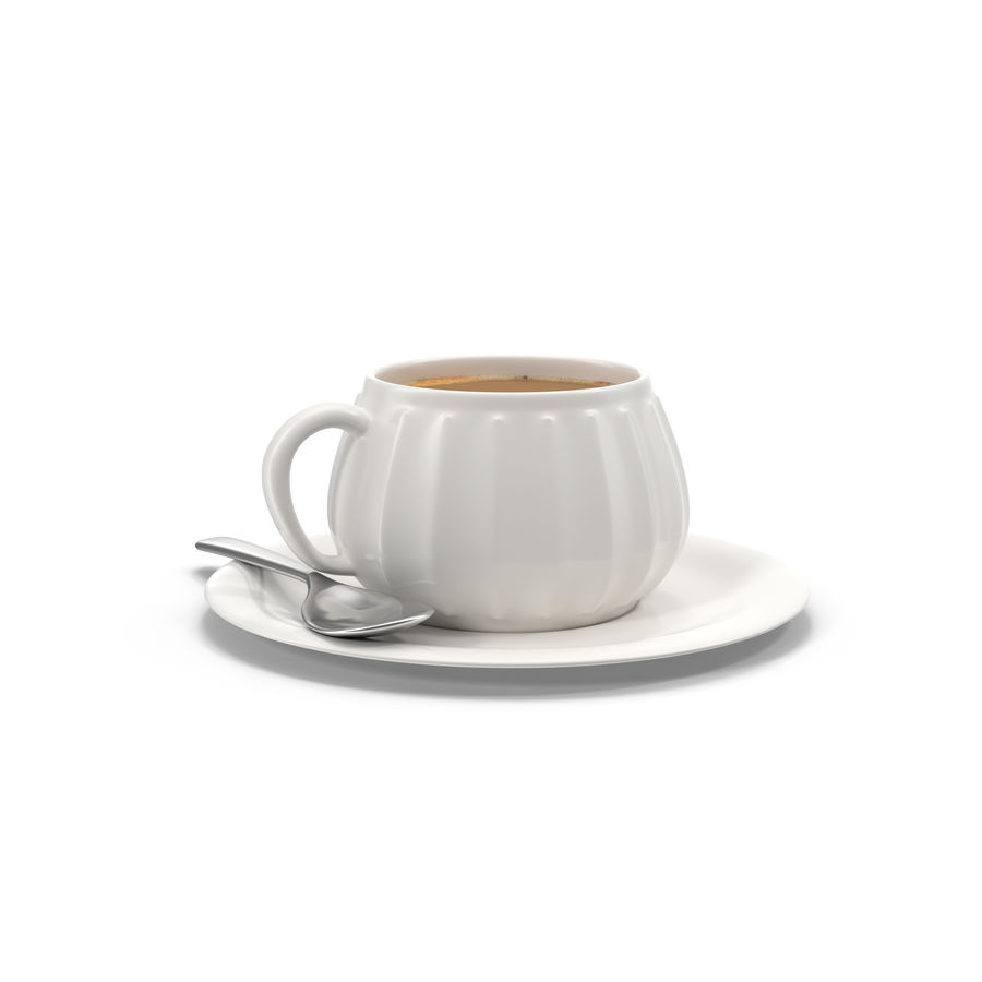 Cup Coffee royalty-free 3d model - Preview no. 4