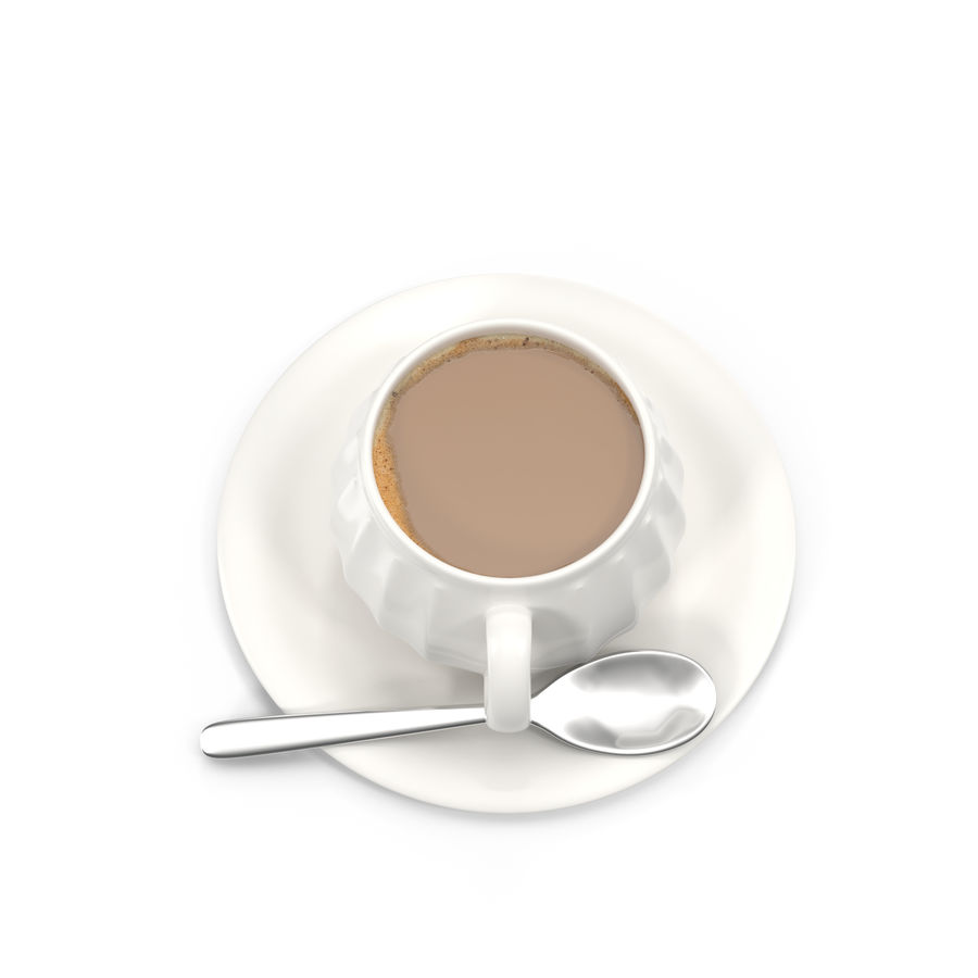 Cup Coffee royalty-free 3d model - Preview no. 9