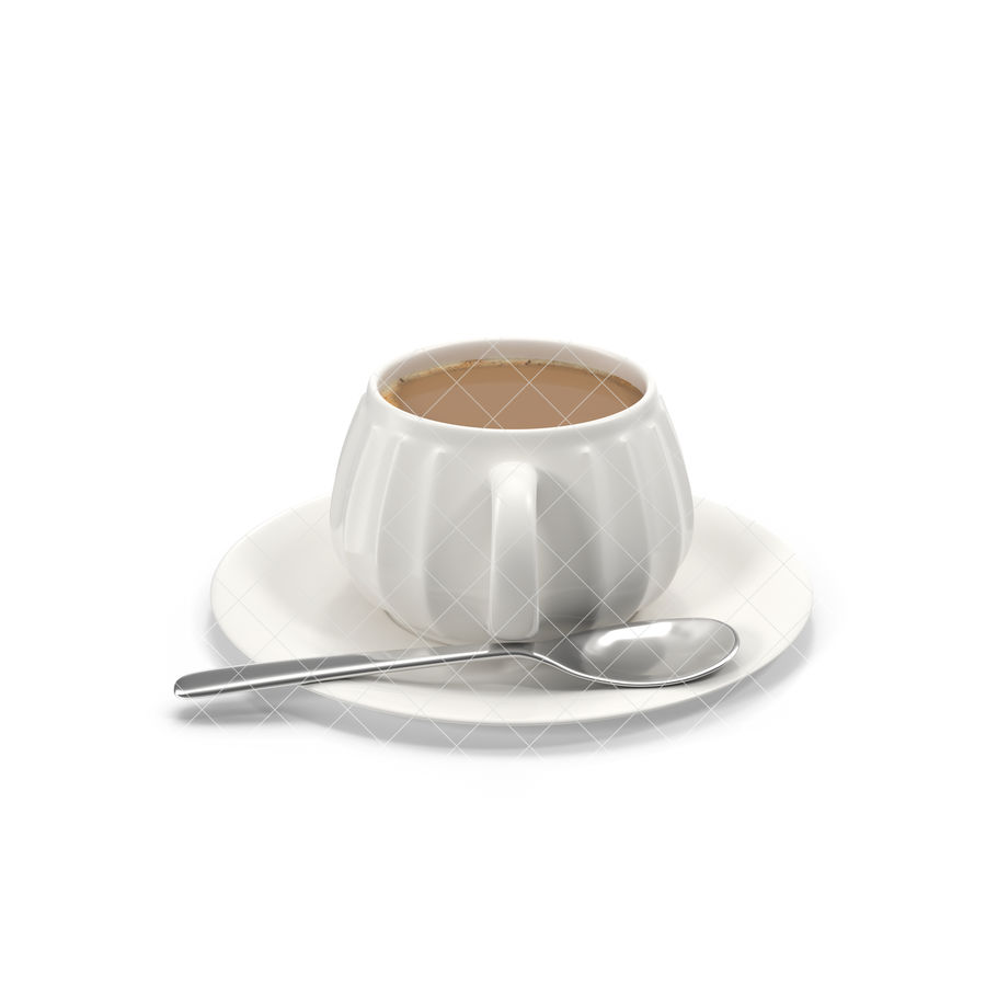 Cup Coffee royalty-free 3d model - Preview no. 10