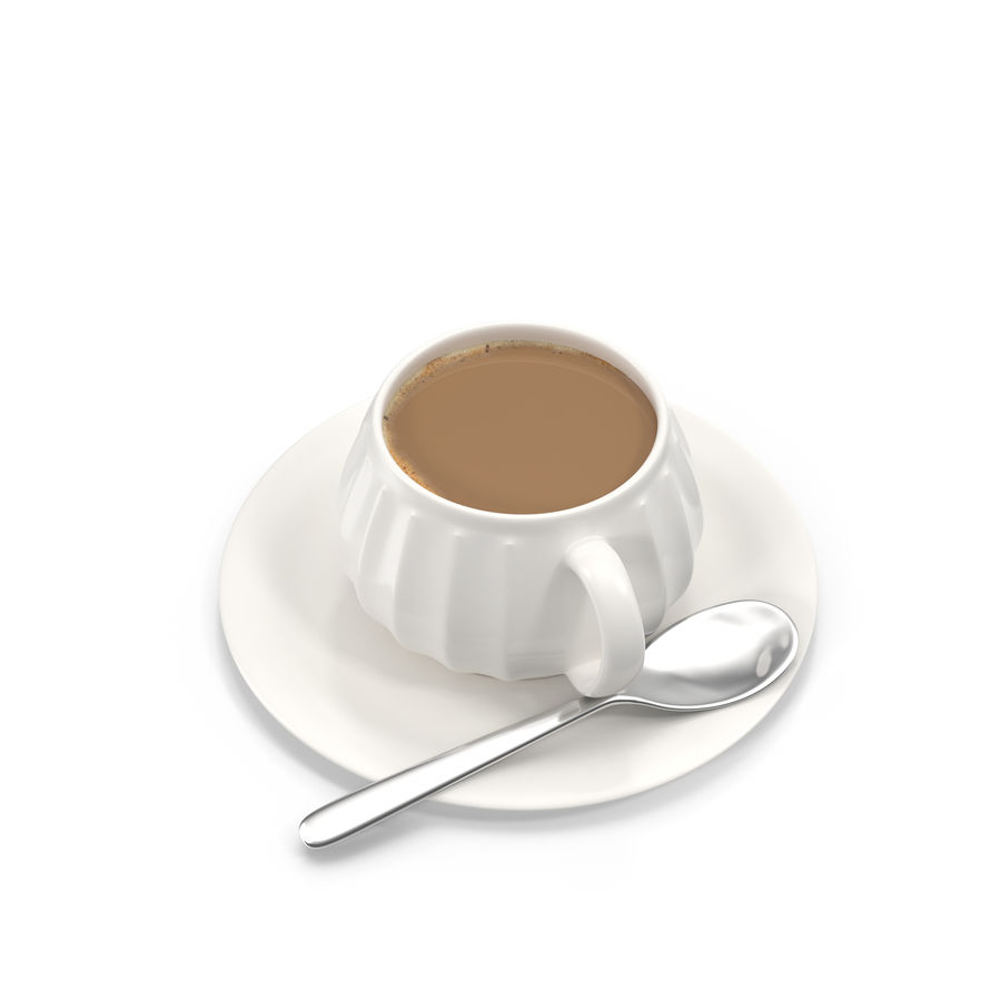 Cup Coffee royalty-free 3d model - Preview no. 2