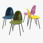 Chair Velvet 3d model