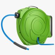 Hose Reel 1 Green 3d model