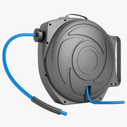 Hose Reel 1 Black 3d model