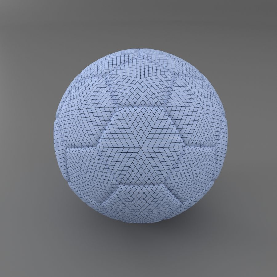 Fútbol americano royalty-free modelo 3d - Preview no. 4