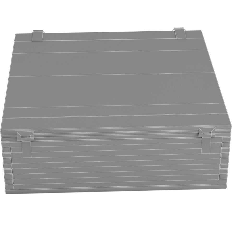Ammo box royalty-free 3d model - Preview no. 11