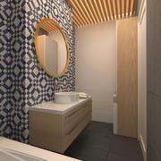 Kleines Badezimmer 3d model