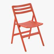 折叠空气椅 3d model