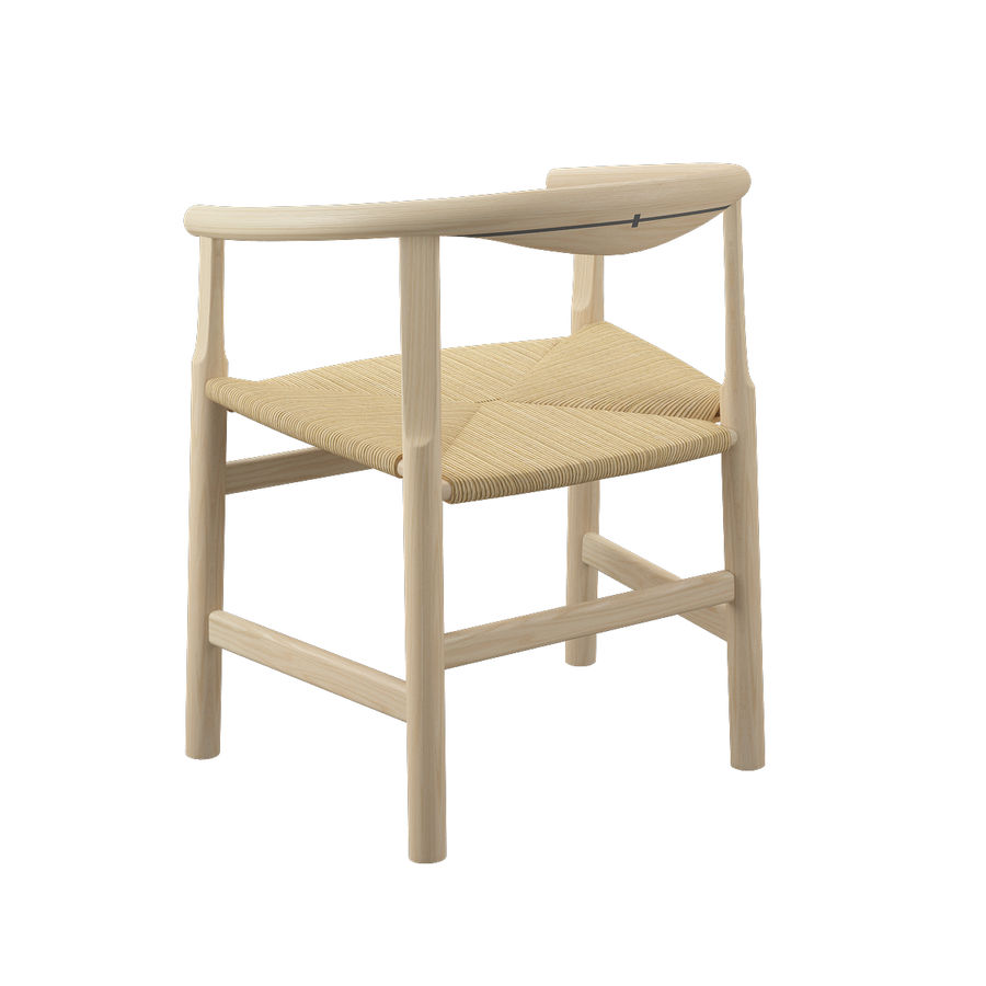 Krzesło PP201 - Hans J Wegner royalty-free 3d model - Preview no. 8