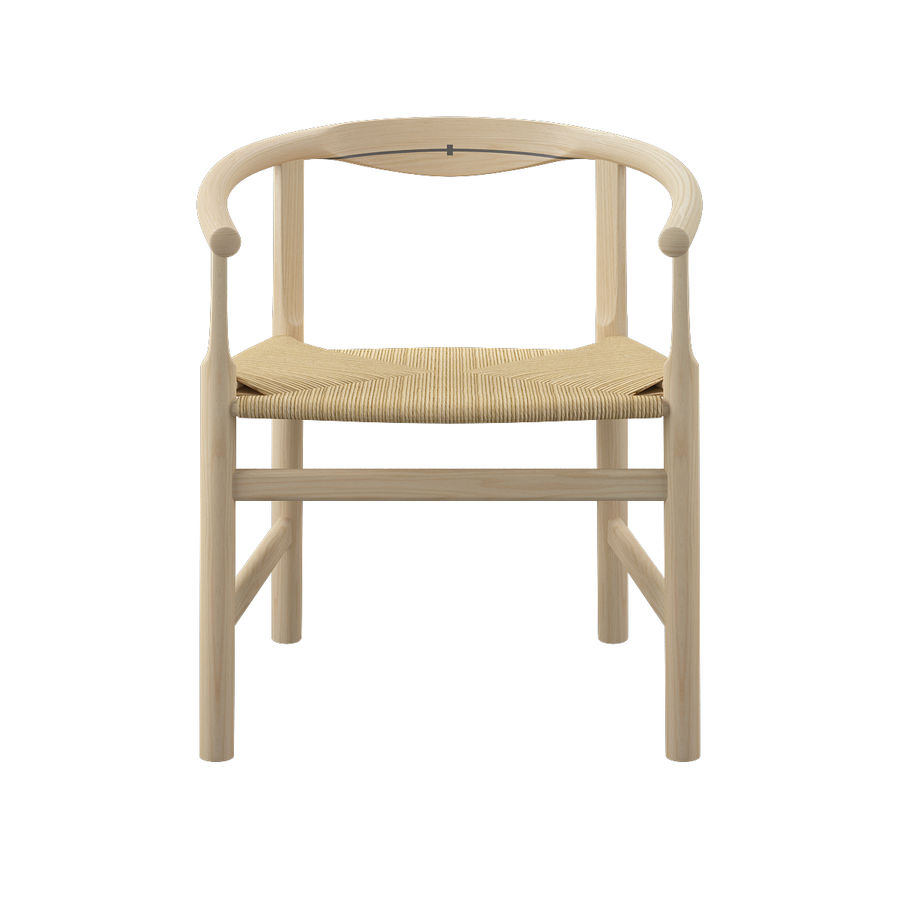 Krzesło PP201 - Hans J Wegner royalty-free 3d model - Preview no. 4