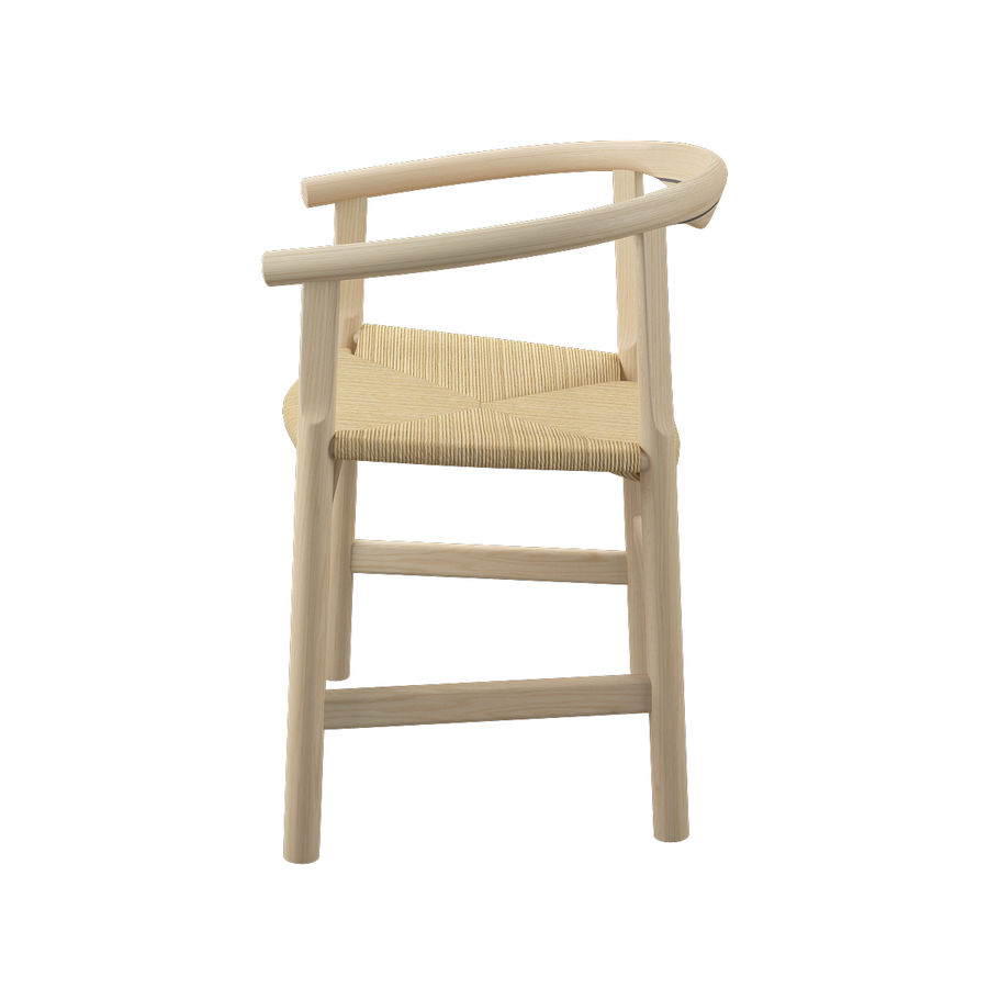 Krzesło PP201 - Hans J Wegner royalty-free 3d model - Preview no. 6