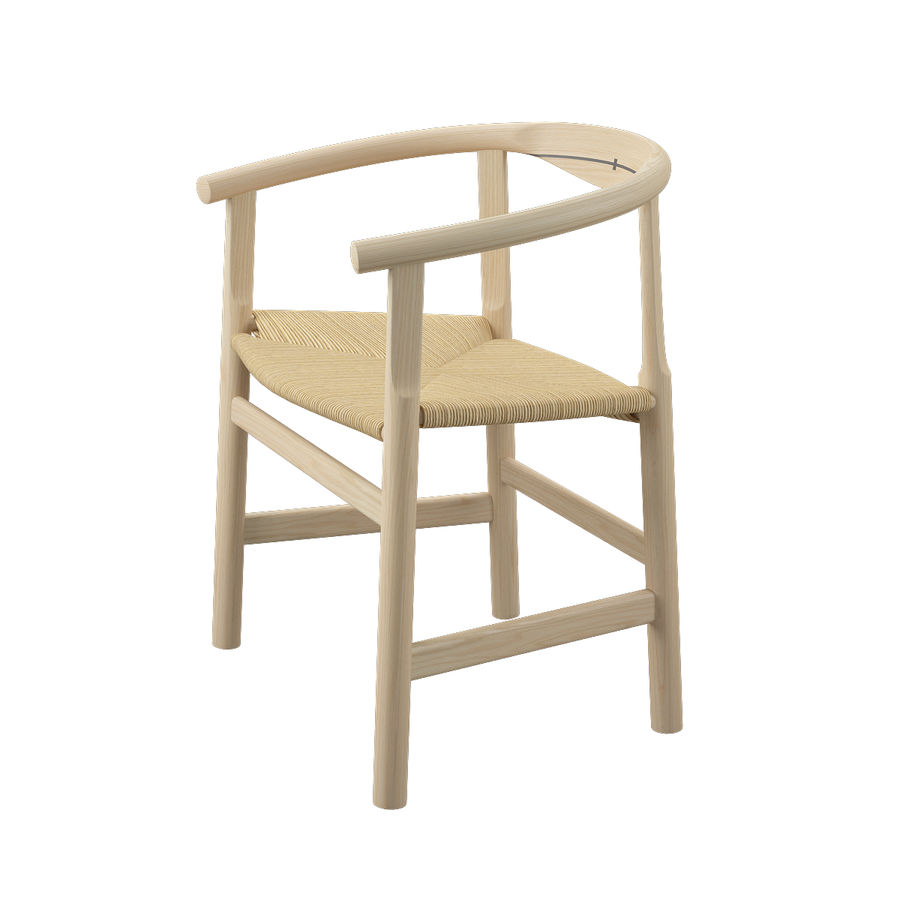 Krzesło PP201 - Hans J Wegner royalty-free 3d model - Preview no. 5
