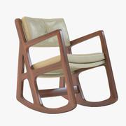 Сонное кресло-качалка 3d model