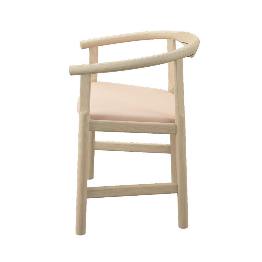 Krzesło PP203 - Hans J Wegner royalty-free 3d model - Preview no. 6