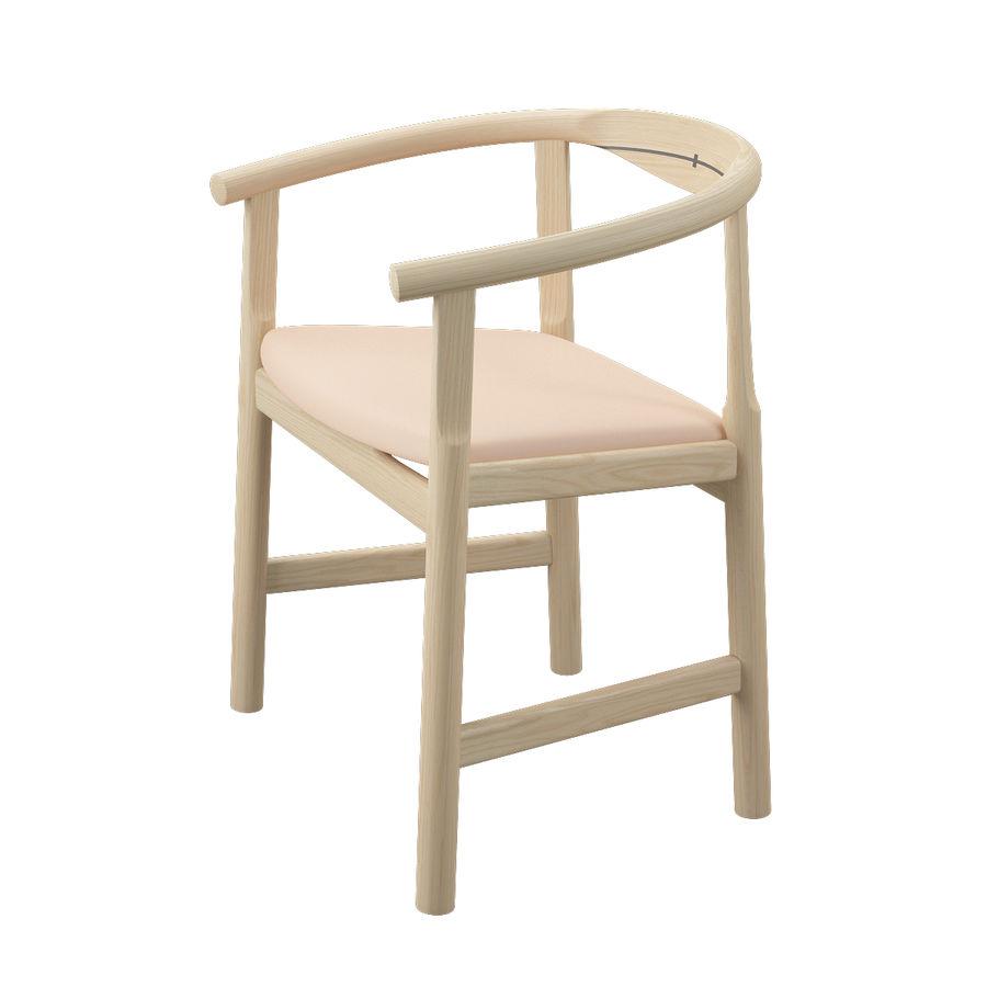 Krzesło PP203 - Hans J Wegner royalty-free 3d model - Preview no. 5