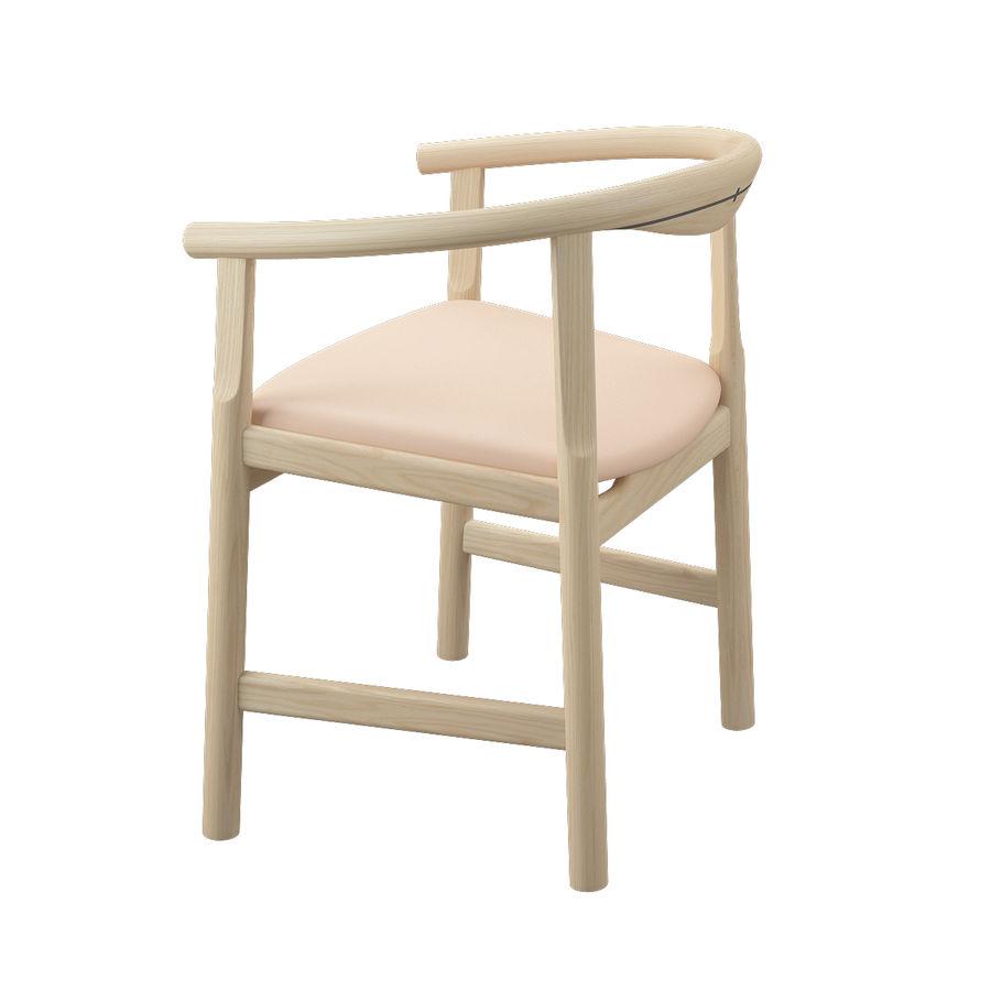 Krzesło PP203 - Hans J Wegner royalty-free 3d model - Preview no. 7