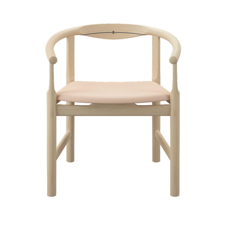 Krzesło PP203 - Hans J Wegner royalty-free 3d model - Preview no. 4