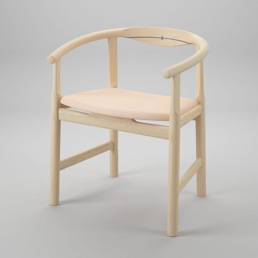 Krzesło PP203 - Hans J Wegner royalty-free 3d model - Preview no. 2